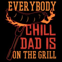 Dad Is On The Grill Design